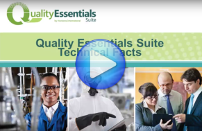 Video: Quality Essentials Suite Technical Facts