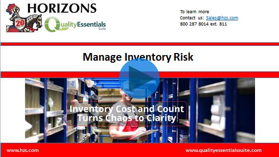 Video: Addressing Inventory Risks